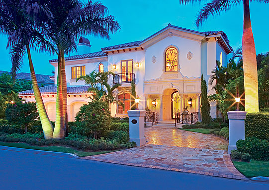 408 South Maya Palm, Boca Raton Drive, Florida Front of House